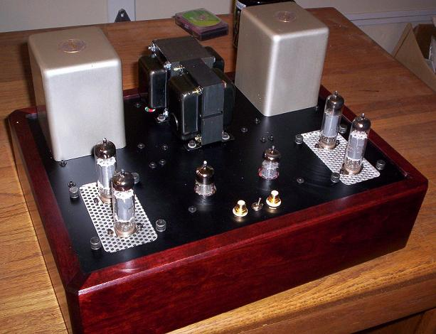 The Red Light District: A 15W Push-Pull Amplifier